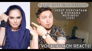 Download lagu Vocal Coach Reacts! Dato Siti Nurhaliza! Jerat Percintaan & Purnama Merindu! Live!