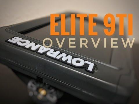 Lowrance Elite 9Ti