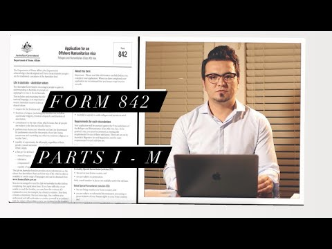 Download How to fill in Form 842 - Parts I - M - تكميل كردن فورم 842