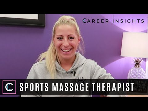 Sports Massage Therapist - Career Insights (Careers in Sport & Healthcare)