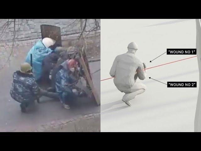Who Killed the Kiev Protestors? Videos May Reveal the Answer | NYT - Visual Investigations