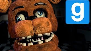 TWERKING IS SCARY! | Freddy Fazbear's Pizza | Gmod Horror Map (Part 4)
