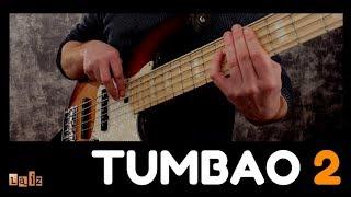 Tumbao de Bajo #2 . Ejercicio interactivo. Bass Tumbao. Clases y cursos de bajo. Carlos Laiz.com
