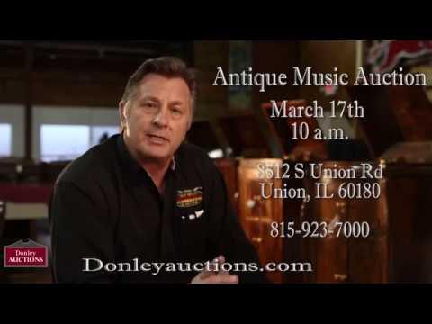 Antique Music Auction - March 17th 10am