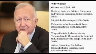 Im Gespräch mit - Willy Wimmer.