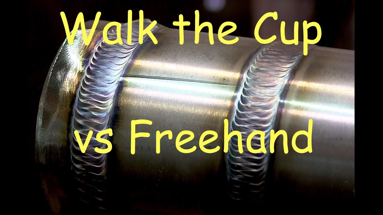 how to end a tig weld