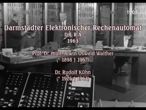 German Mainframe Computer DERA - Documentary From 1963
