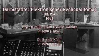German Mainframe Computer DERA - Documentary from 1963
