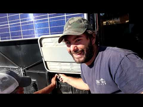 Flooded My RV & Replacing Corroded Battery Terminals