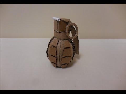 How to make my Cardboard Frag Grenade