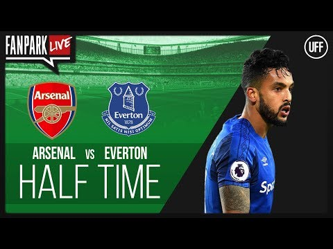 Arsenal vs everton - half time phone in - fanpark live