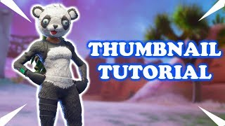 HOW TO MAKE A FORTNITE THUMBNAIL WITH PIXLR