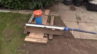 Brunnenbohren von Hand zur Bewässerung Teil 2. Schritt für Schritt