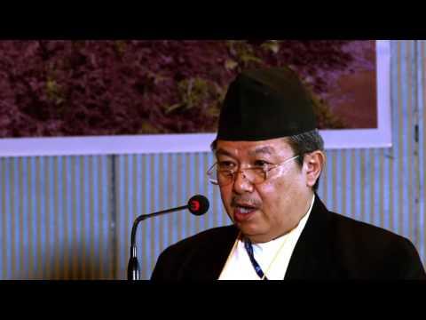 प्रा.डा. गीता भक्त जोशी वैज्ञानिक संगोष्ठीमा उद्घाटन मन्तब्य  दिनु हुँदै काठमाडौ, नेपाल, २०१६