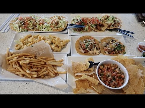 PACIFIC FISH GRILLS TACO TUESDAY FEAST! MUKBANG