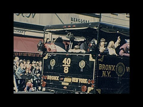New York 1980 archive footage
