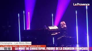 La mort de Christophe, figure de la chanson française
