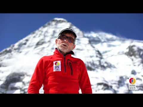 Carlos Soria comenta los pronósticos del tiempo y próximos planes