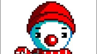Pixel art of a...snowman???