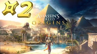 Assassin's Creed Origins - Let's Play #2 [FR]