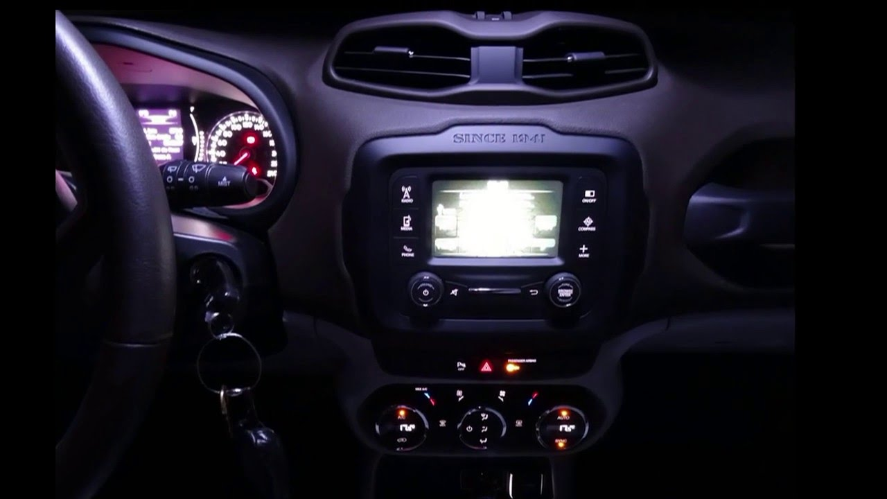 Jeep Renegade Interior Led Light Night Appearance