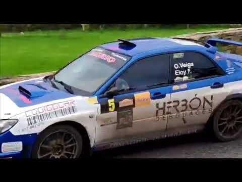 El primer Rallye da Mariña lleva el espectáculo del motor a la comarca