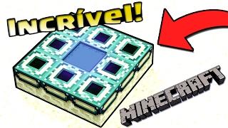 O Menor Portal do Fim do Minecraft - Portal The End