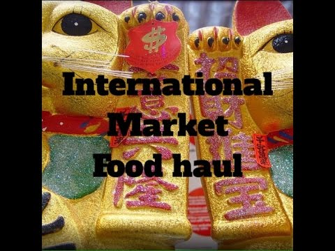 Ep:102 International Market Food Haul.