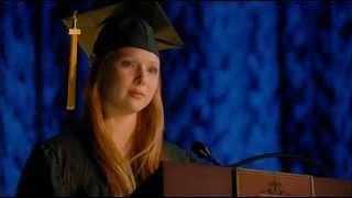 """видео: Речь Алексис на выпускном """"Касл"""" 4х23"""
