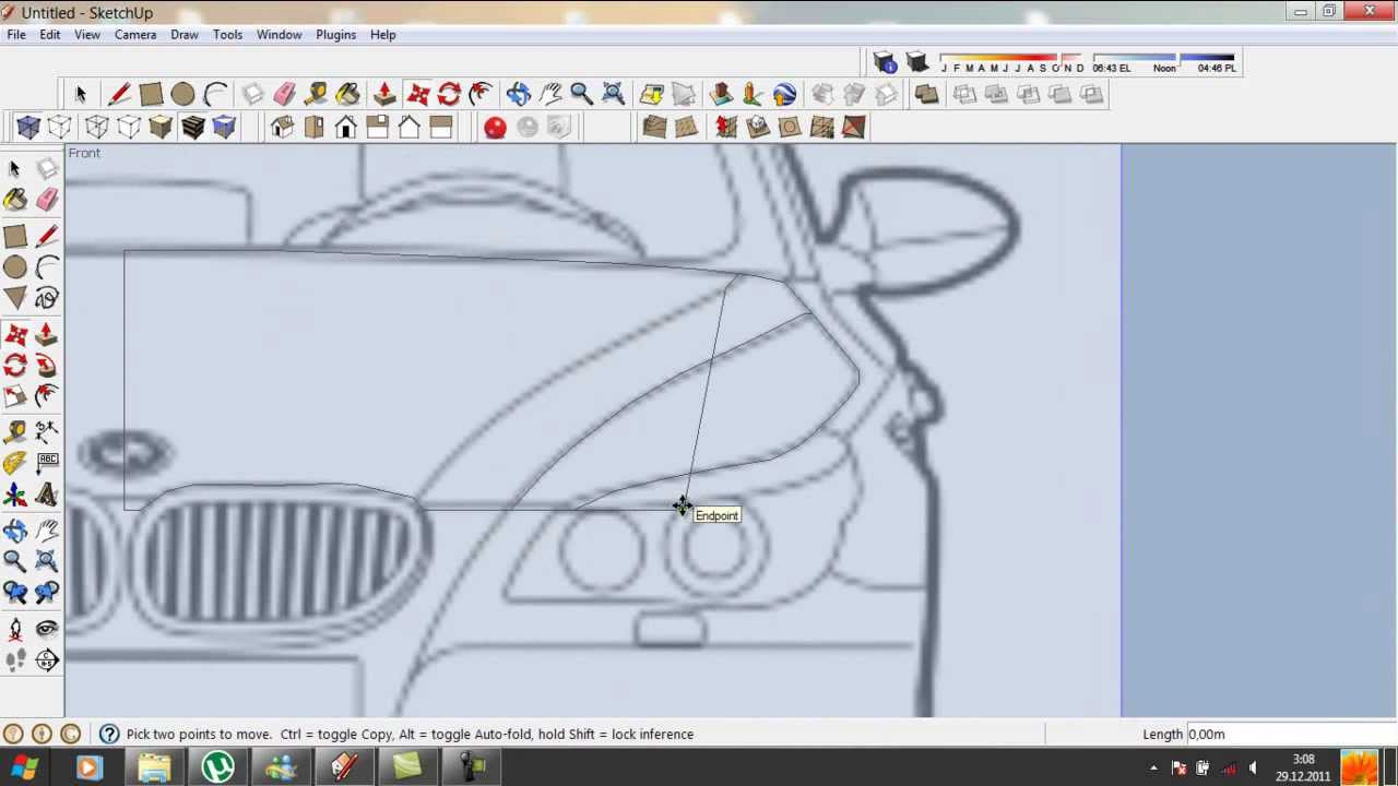 Car Design Software Car Designing Software 3d Car 3d Design Online Google Sketchup Tutorial : How To Do A Car In 3d. Part 1 - Youtube