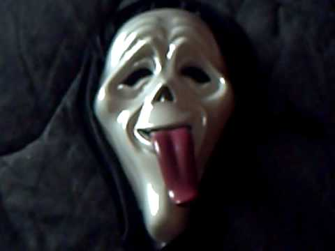 Scream-Wassup mask
