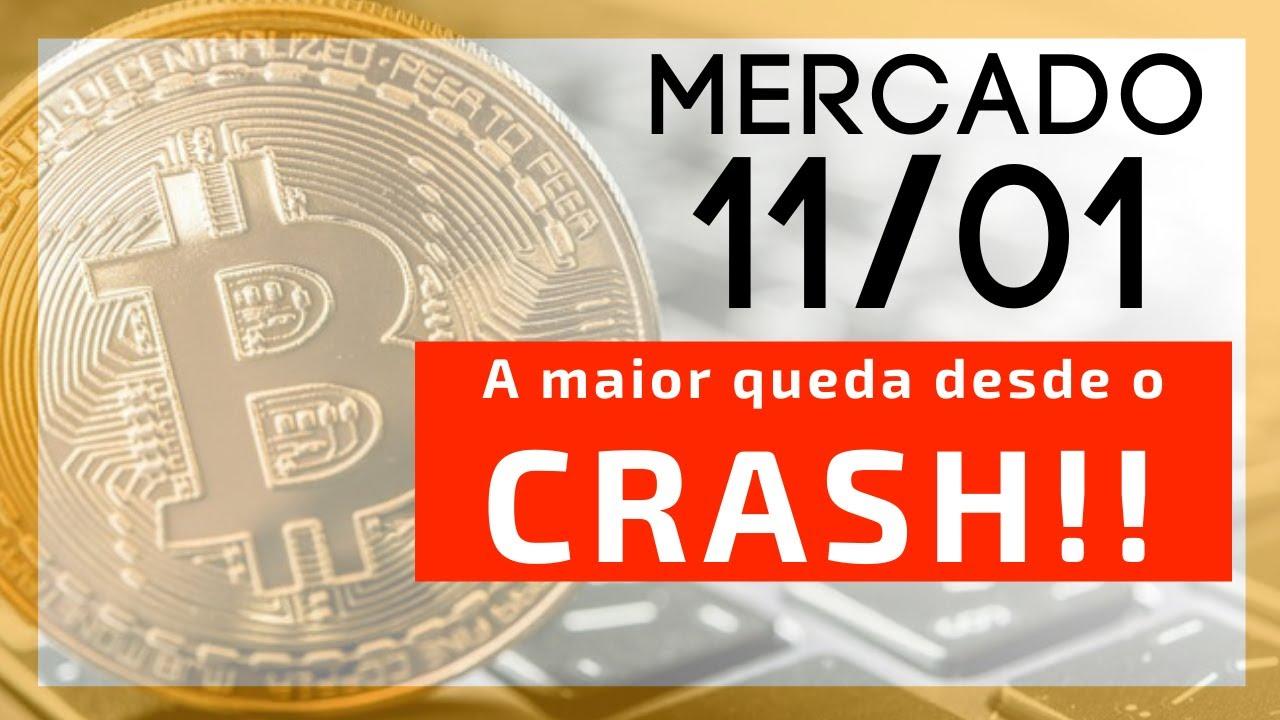 A maior queda do Bitcoin desde o Crash de março!! Fique ligado nisso...