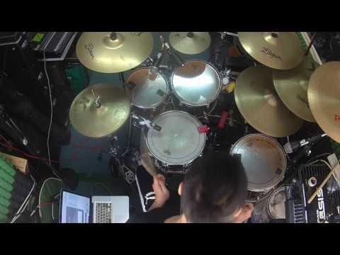 NARUTO SHIPPUDEN (ナルト疾風伝) - BLUE BIRD (Raon version) drum covered by SenHei@ToNick