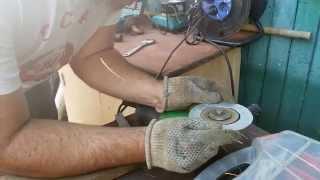 изготовление клапана для желонки
