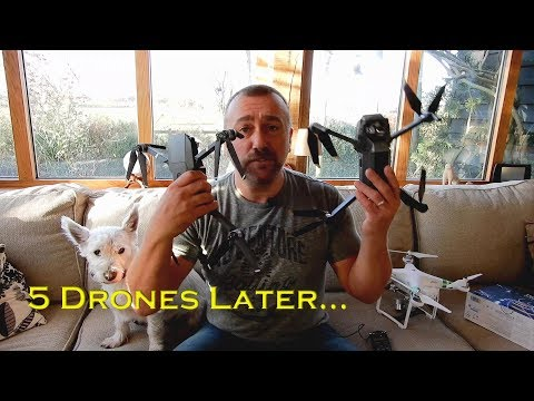 5 Drones Later… What happened to me and my drones in 2017