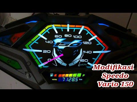 Tutorial Modifikasi Speedometer Vario 125/150 Led