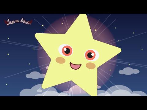 ESTRELLITA DÓNDE ESTÁS? ♫ Con letra + Karaoke ♫ Videos Infantiles