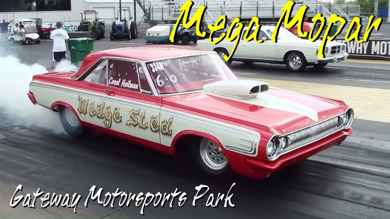 Mega Mopar - Huge Car Show Drag Racing Burnouts - Supercharged ...