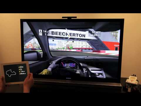 AirServer Vs. Apple TV 3 - Real Racing 2 HD