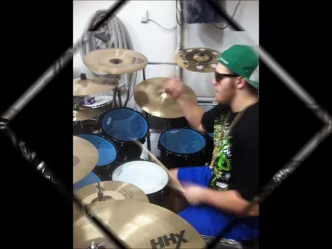 YoUnG, WiLd, AnD FrEe - Snoop Dogg and Wiz Khalifa ft Ryan Wiebe(Drum Cover)