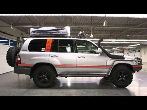 greg miller's 2006 uzj100 expedition land cruiser - youtube