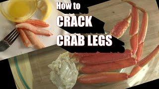 How to Crack Snow Crab Legs