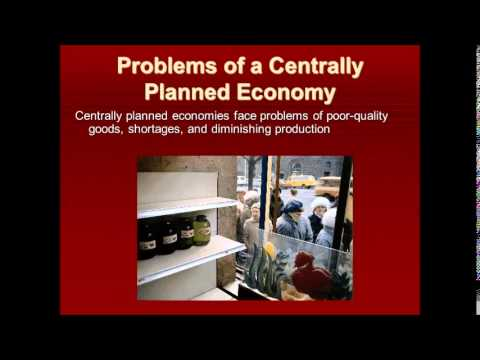what is a centrally planned economy