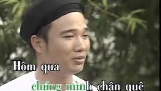 Karaoke: Chân Quê - Quang Linh