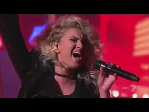 Tori Kelly - Don't You Worry About a Thing on X Factor Australia 2016 Finale