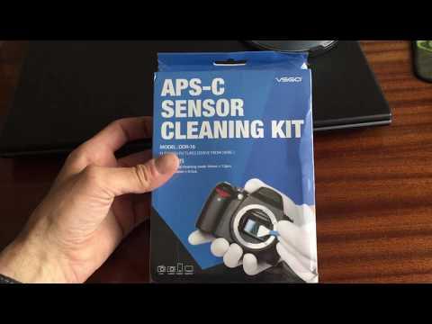 APS-C sensor cleaning swab kit