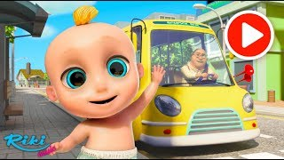 Колеса на автобусе | The Wheels on the Bus -  Songs for Children | Loo Loo Kids