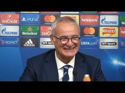 Leicester 1-0 FC Copenhagen - Claudio Ranieri Full Post Match Press Conference