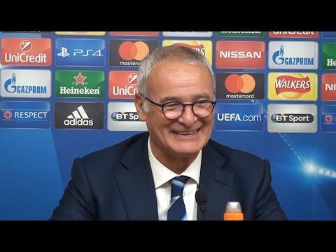 Leicester 1-0 FC Copenhagen - Claudio Ranieri Full Post Match Press Conference