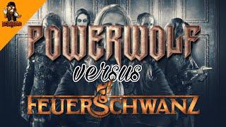 Powerwolf vs Feuerschwanz - Amen and Attack | Battle of the Bands | Reaction | Deutsch/German